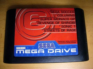 Sega Mega Drive 6 in 1