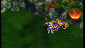 Grandia - Justin beats Gadwin